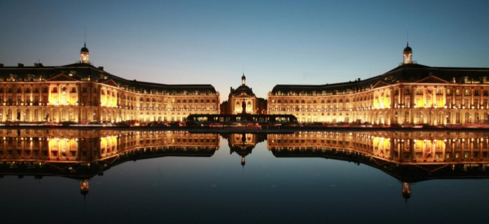 Place de la Bourse Bordeaux First Growths - T Sanson