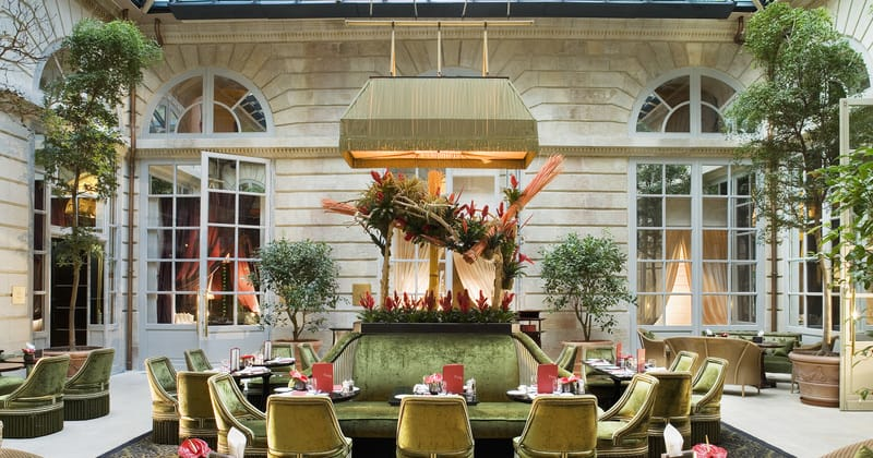 InterContinental Bordeaux Le Grand Hotel Le Bar L'Orangerie @Alain Caboche