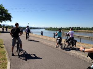 Cycling in the Rhone
