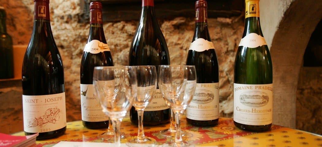 Rhone wines - credits L. Pascale la Drome Tourisme