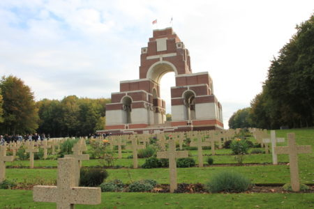 Champagne Battlefields Tour - Thiepval-memorial-SamuelCrampon3