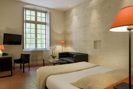 Rhone by Rail Cloitre Saint Louis room- from their web site