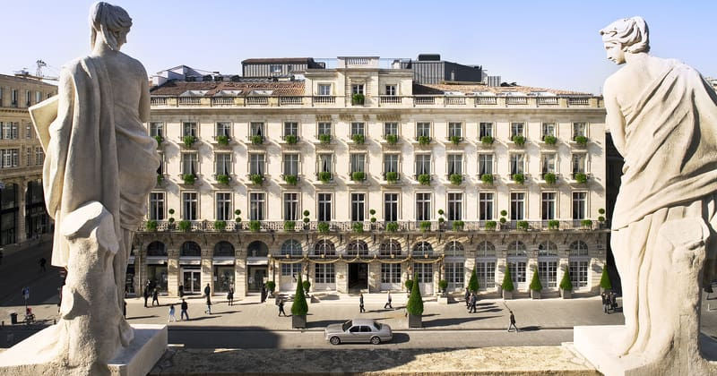 Bordeaux Food Tour - Grand Hotel de Bordeaux- Hotel image facade