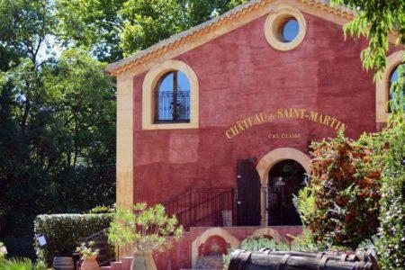 Provence wine tour - credits Chateau de Saint-Martin