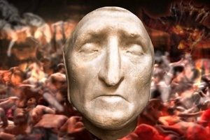 Florence Wine Tour - inferno-florence-tour-dantes-death-mask
