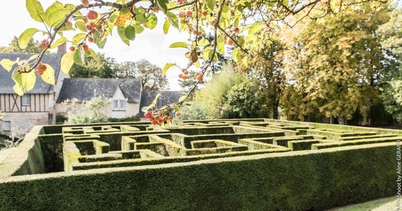 Château de Noirieux Labyrinthe - Credits Château de Noirieux