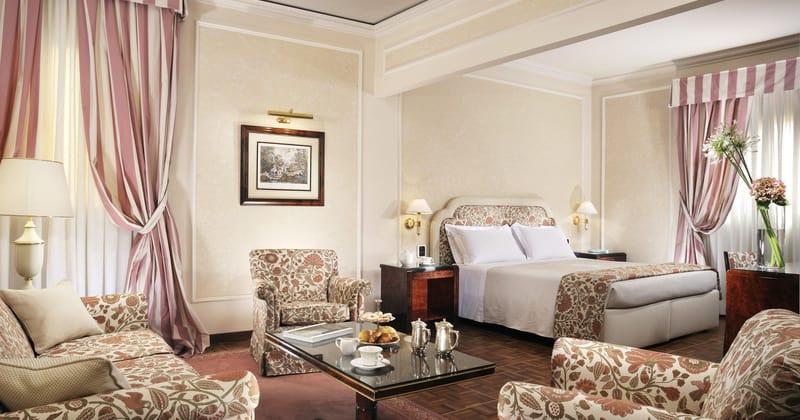 Hotel de la Ville BRUNELLESCHI JUNIOR SUITE - credits Hotel de la Ville