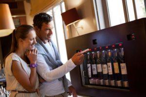Enoline wine samplings- Cafe Lavinale