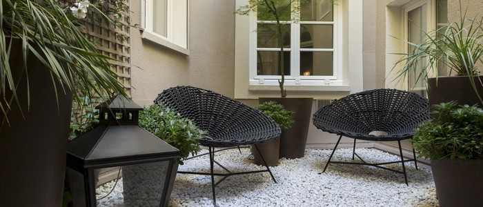 Hotel Louison Patio Paris