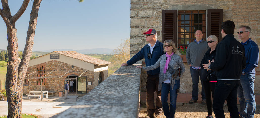 Luxury Tuscan wine tour