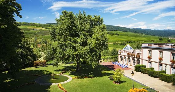 Wine tours in Alsace - credits Chateau d'Isenbourg