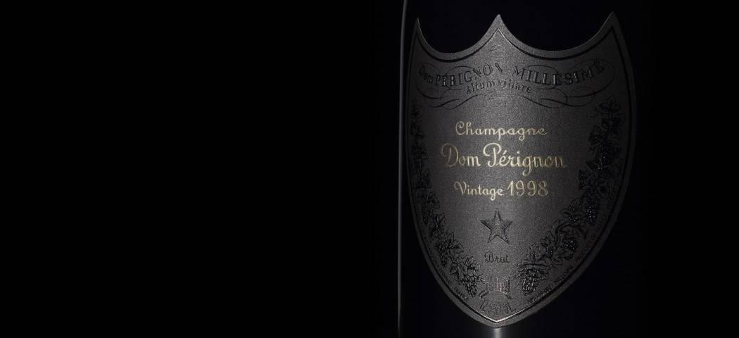 Dom Perignon P2 label detail by Maud Rémy-Lonvis